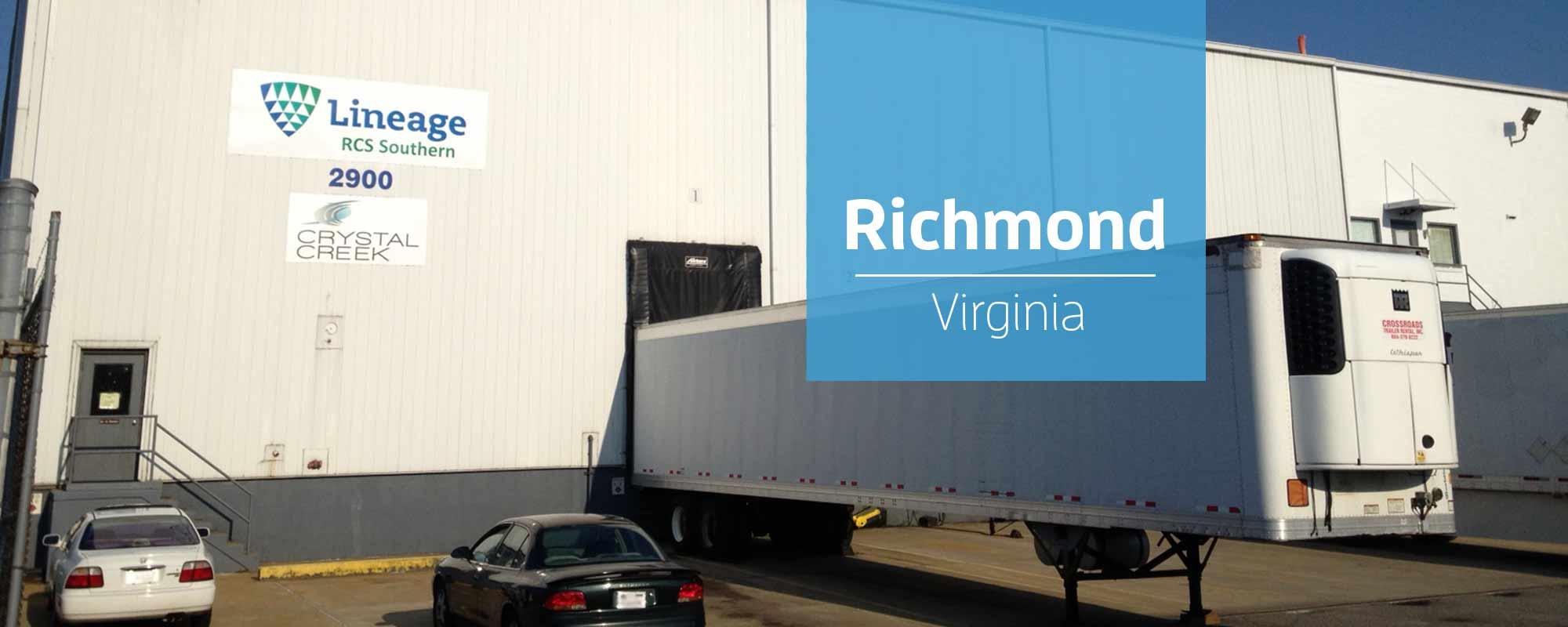 Richmond Warehouse - Crystal Creek Logistics