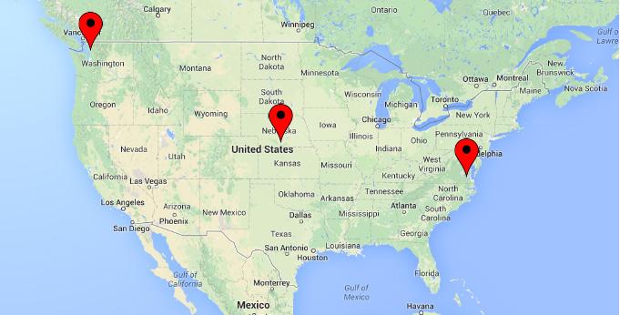 Crystal Creek Logistics Location Map