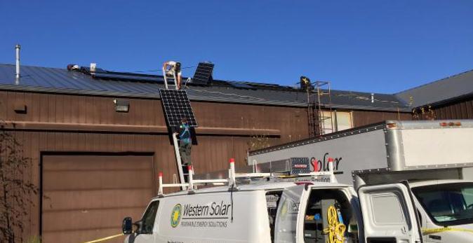Crystal Creek Sustainable Green Fulfillment Solar Power in Ferndale Western Solar
