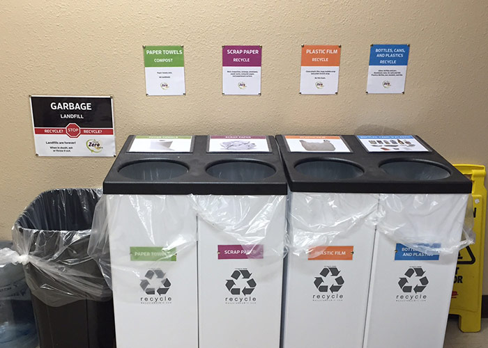 Crystal Creek Sustainable Fulfillment Toward Zero Waste Bins Ferndale WA