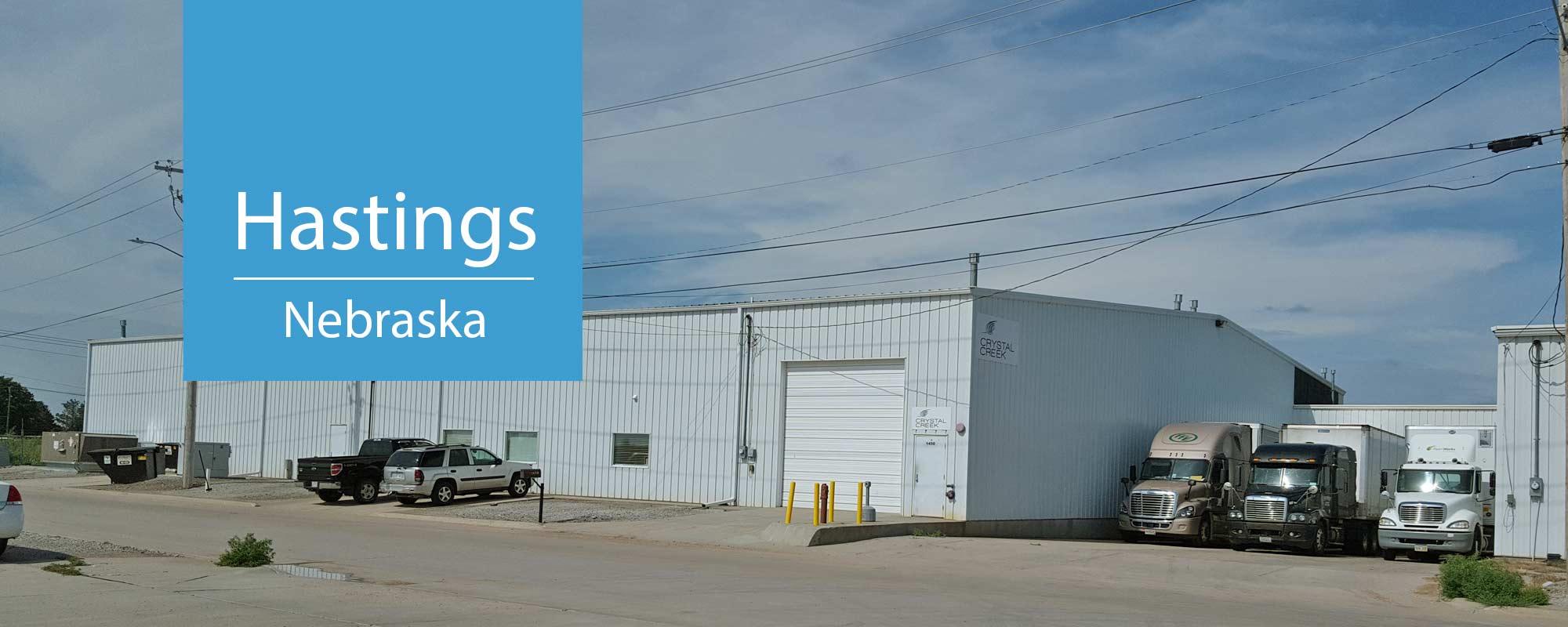 Hastings Warehouse - Crystal Creek Logistics
